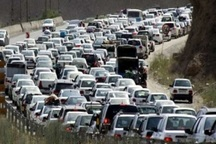 ترافیک ورودی های خراسان رضوی پرحجم است