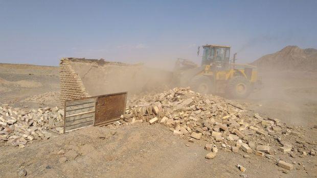 ١6.5 هکتار از زمین های ملی بهاباد، رفع تصرف شد