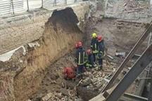 مرگ ۴ کارگر بر اثر ریزش ساختمان