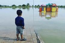 سیل مهربانی کودکان گیلانی برای کودکان آوارسیل