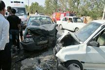 برخورد 2 خودرو در قزوین هشت مصدم برجای گذاشت