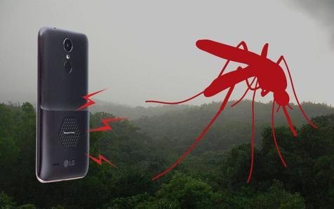 گوشی جدیدی که پشهها را از محیط اطراف دور میکند + تصاویر