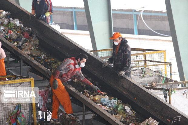 روزانه ۷۰۰ تن زباله در کرمانشاه بازیافت میشود