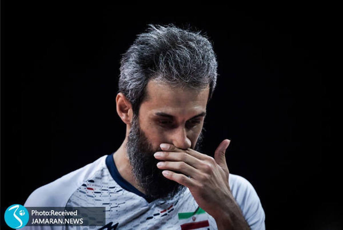 سکانس پایانی والیبال ایران در ایتالیا؛ ستاره های خاموش! عکس