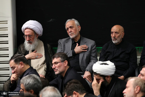 عزاداری شب تاسوعای حسینی(ع) در حسینیه امام خمینی(ره)