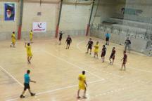 لیگ دسته یک هندبال کشور  برد پیشگان یزد و صعود به جمع هشت تیم کشور
