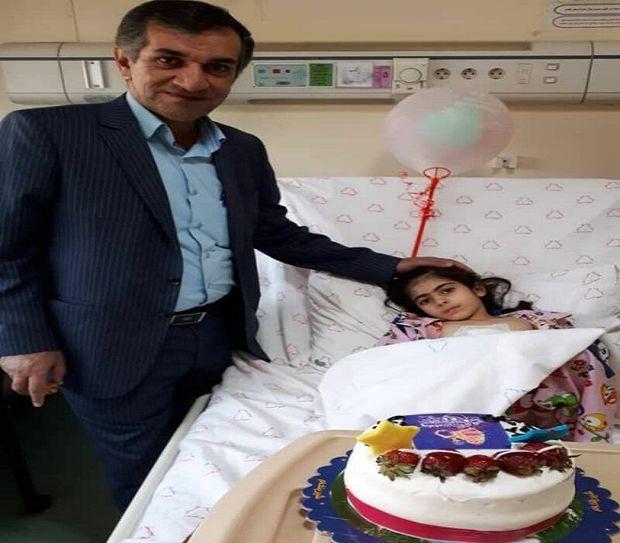 وقتی پزشک برای بیمار خود جشن تولد می گیرد