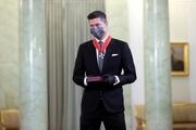 لواندوفسکی و دریافت نشان افتخار از رئیس جمهور لهستان +عکس