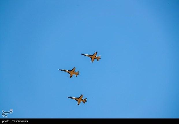 تحویل 3 فروند جت جنگنده کوثر به نیروی هوایی ارتش (11)