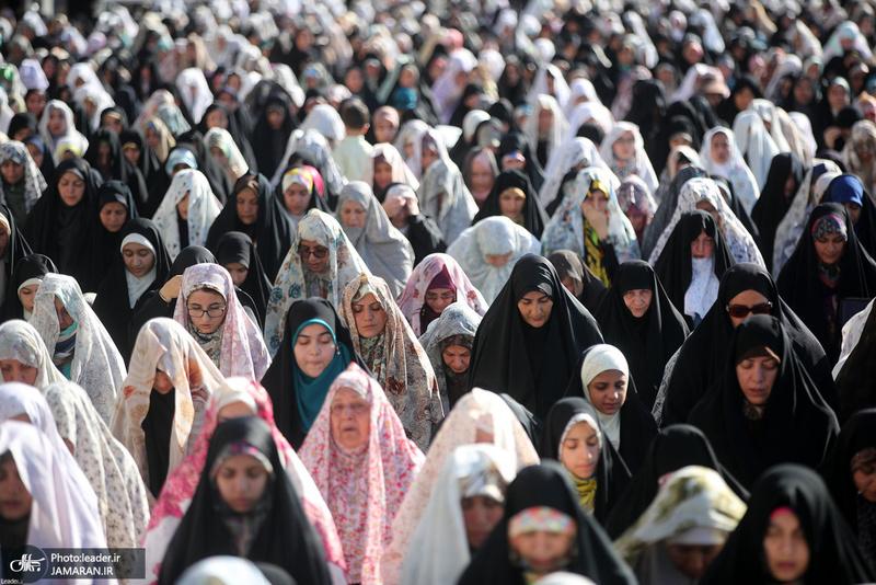 اقامه نماز عید سعید فطر در مصلای امام خمینی (س)