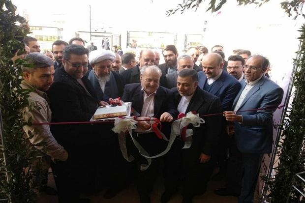 یک سالن ورزشی با حضور وزیر دادگستری در قزوین بهره برداری شد