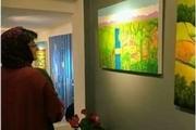 نمایشگاه نقاشی هنرمند خورموجی در تهران گشایش یافت