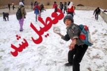 مدارس شهرستانهای آذربایجان غربی در نوبت عصر تعطیل شد