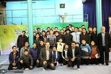 تجدید میثاق دانش آموزان و اقشار مختلف مردم با امام (س) در حسینیه جماران