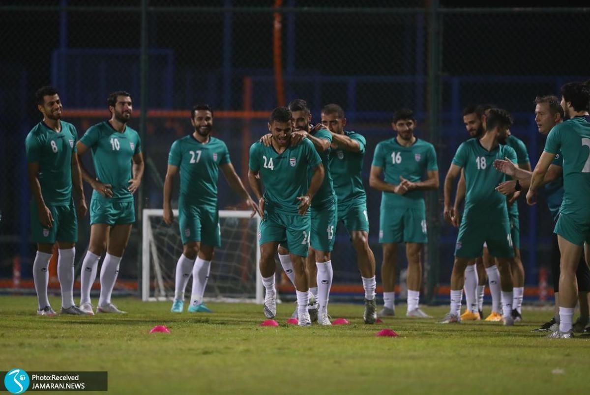 آخرین تمرین فوتبالیست های ایران قبل از بازی سرنوشت+ عکس