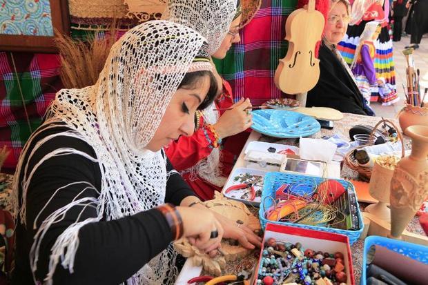 نمایشگاه مشاغل خانگی همدان برگزار می شود