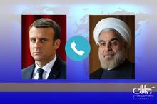 روحانی: آمریکا از برجام خارج شده و نمی تواند از ساز و کار برجام استفاده کند/ مکرون: دیدگاه ما درمورد برجام با آمریکایی ها متفاوت است و این را به وضوح به آنها گفته ایم