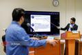 نمایش توییت آذری جهرمی در دادگاه «روح الله زم»+ عکس