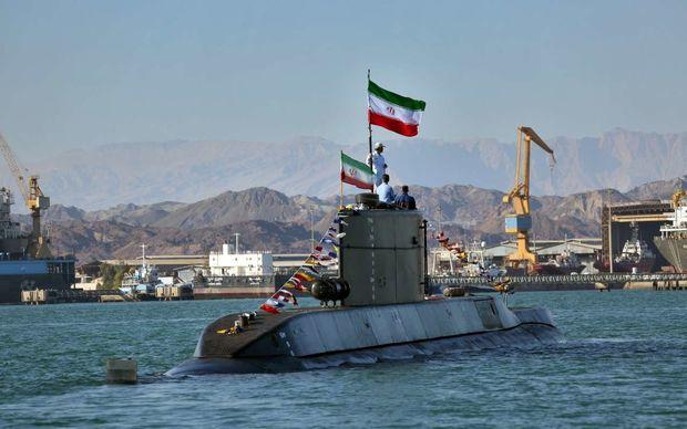 زیردریایی فاتح برای اولین بار در رزمایش شرکت کرد