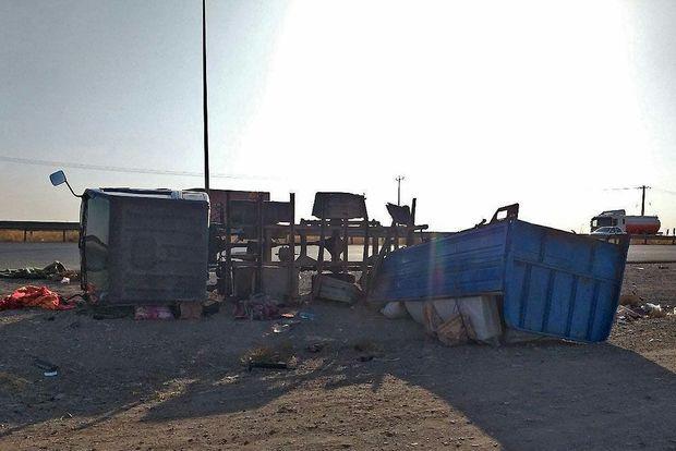 سانحه رانندگی در بزرگراه شهید شوشتری مشهد یک کشته برجای گذاشت