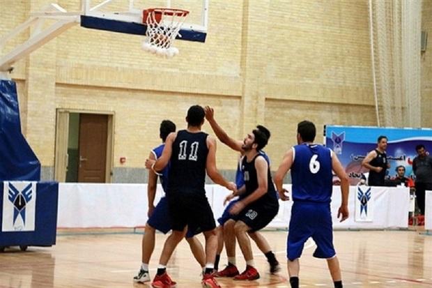 هرمزگان در رقابتهای بسکتبال دانشگاه آزاد کشور سوم شد