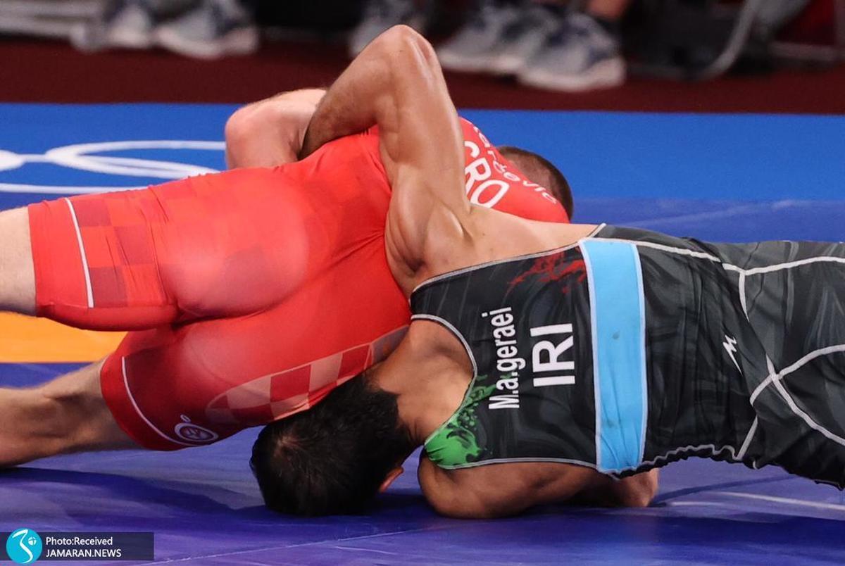 المپیک 2020 توکیو| محمدعلی گرایی: یک فن من درآوردی زدم!/ دوست ندارم ببازم