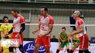 جدال تیم والیبال شهرداری ارومیه مقابل خاتم اردکان