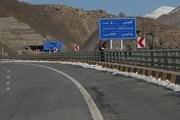 جاده چالوس و تهران-شمال باز شد  کاهش ۳۸.۹ درصدی تردد در جاده ها