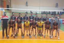 تیم امید آذربایجانغربی به نیمه نهایی والیبال کشور صعود کرد