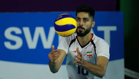 علی شفیعی: اگر بازی تدارکاتی بود شرایط بهتری داشتیم/ رقابت سالمی در تیم ملی والیبال حاکم است