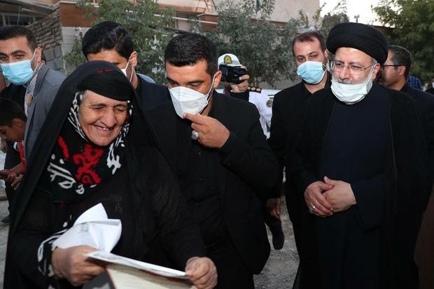 رییسی ایلام را به مقصد تهران ترک کرد