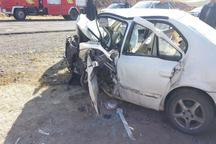 تخطی از سرعت مجاز در کرمان سه کشته بر جا گذاشت