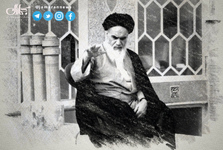 وقتی امام خمینی (س) به احترام دو رزمنده ایستادند