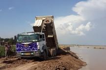 سیل بندهای بامدژ توسط بنیاد مسکن خوزستان در حال ترمیم هستند