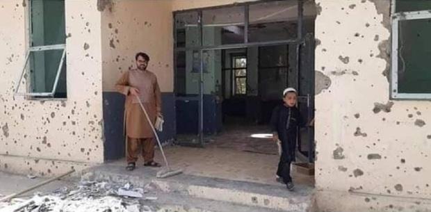 طالبان به یک بیمارستان هم رحم نکرد! + عکس