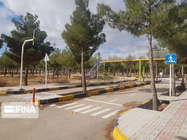 پارک آموزش ترافیک در شاهرود تعطیل است