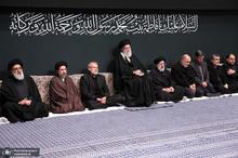 عزاداری شام شهادت حضرت فاطمه زهرا (س) در حسینیه امام خمینی