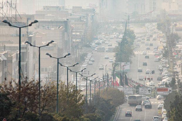 غلظت آلایندههای جوی در آذربایجانغربی افزایش مییابد