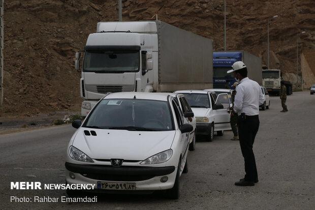 ۲.۲ میلیون تردد در محورهای مواصلاتی آذربایجان غربی ثبت شد