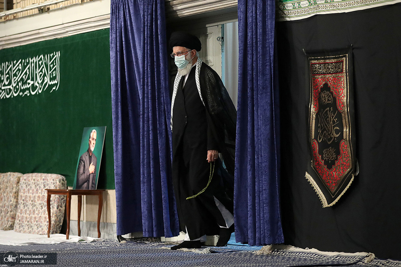 دومین شب مراسم عزاداری حضرت اباعبدالله الحسین (ع) در حسینیه امام خمینی