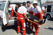 نجاتگران هلال احمر قزوین به هشت مصدوم امدادرسانی کردند