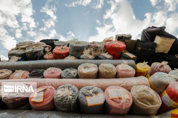 مرزبانی کردستان ۵۴ میلیارد ریال کالای قاچاق کشف کرد