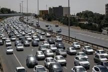 ترافیک در آزادراه های استان قزوین پرحجم است