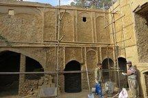 هشت اثر تاریخی شهرستان درمیان مرمت شد