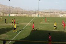تیم نفت اهواز در لیگ برتر فوتبال امیدهای کشور به برتری رسید