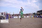 گلستانیها در تور والیبال ساحلی قشم دوم و سوم شدند