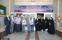 معاون فرهنگی اجتماعی سپاه پاسداران در بازدید از بهشت زهرا(س)