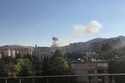 وقوع انفجار مهیب در دمشق