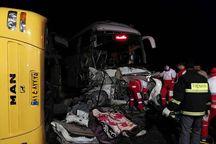 تصادف خودروهادر قزوین سه کشته برجای گذاشت