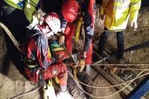 تیم های امدادی هلال احمر جان کشاورز جوپاری را نجات دادند